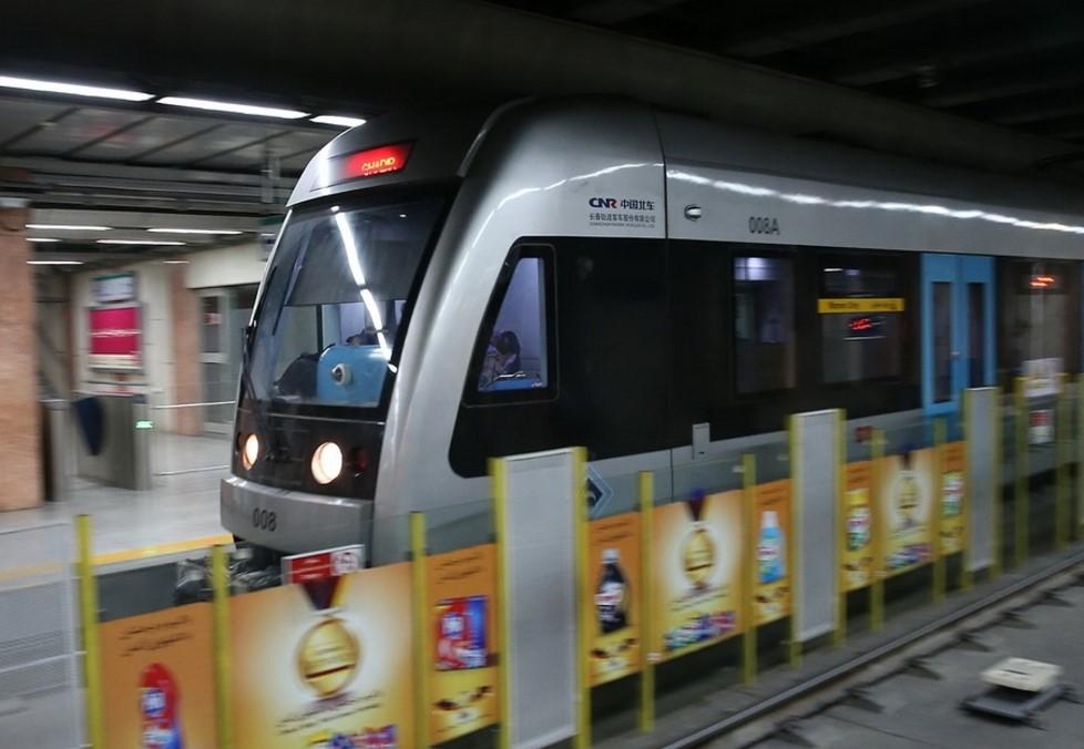 تبلیغات در ایستگاه مترو